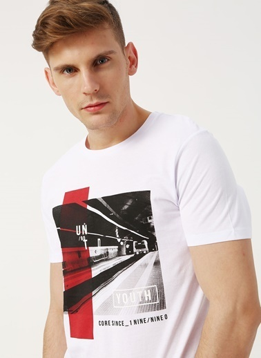 Jack & Jones Jack & Jones Select T-Shirt Beyaz